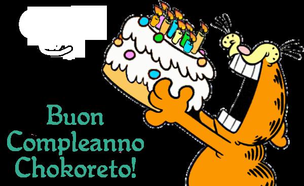 Buon compleanno, Chokoreto!